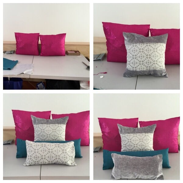 Pillow altered by Valentina Resiga